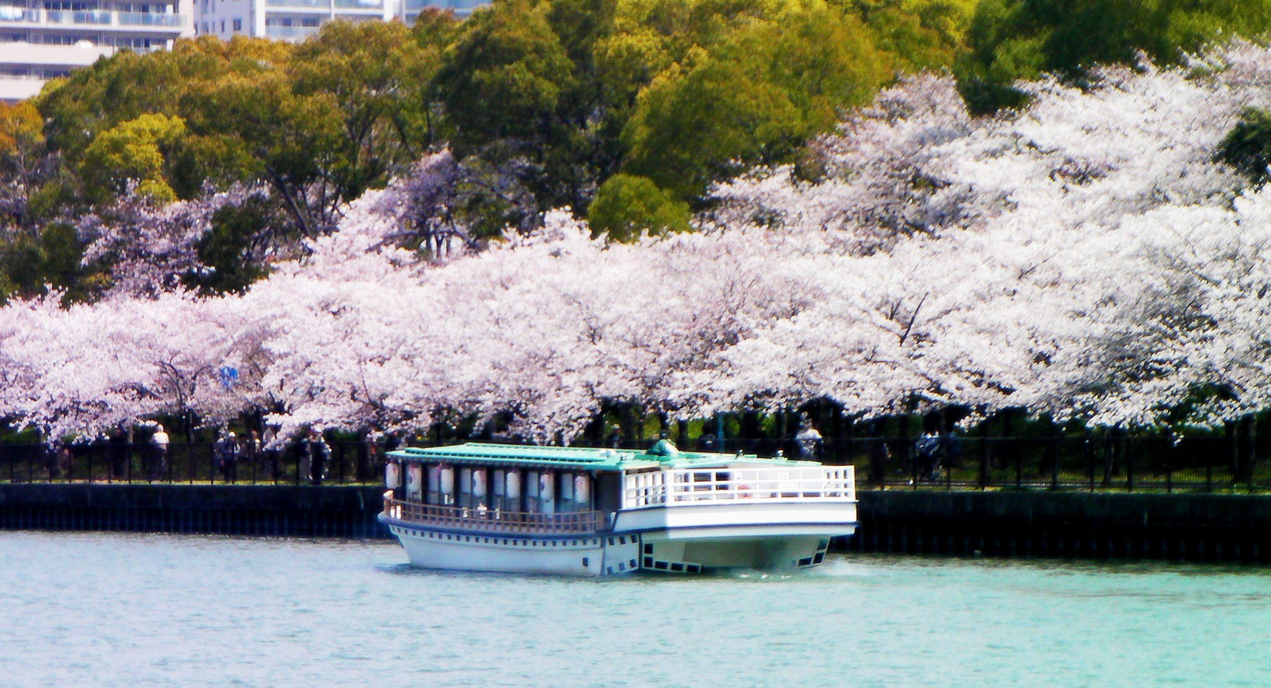 毛馬桜之宮公園と大喜丸